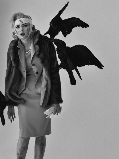 idreamofaworldofcouture:Scarlett Johansson photographed by Tim Walker for W magazine June 2011