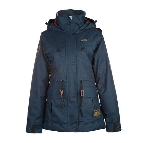 3CS Sentry Women's Snowboard Jacket - Indigo