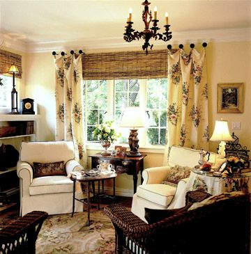 Create A Comfy Cottage Style Living Room Window