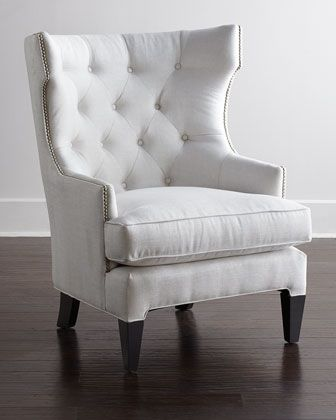 Helena Tufted Chair at Horchow.  $1199.00 ;-(