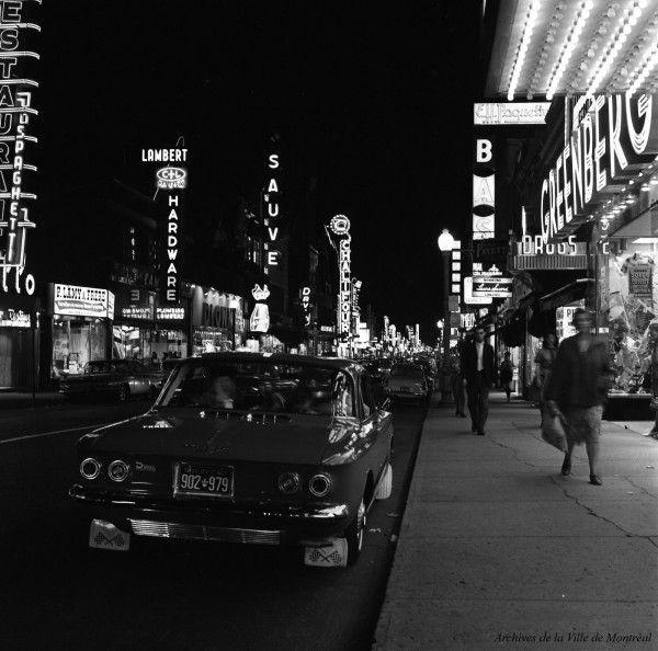 Montréal années 60