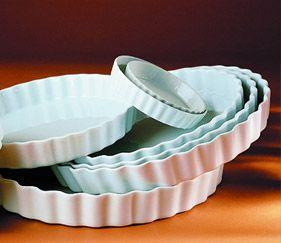 Pillivuyt tærtefad - 28cm - 32cm