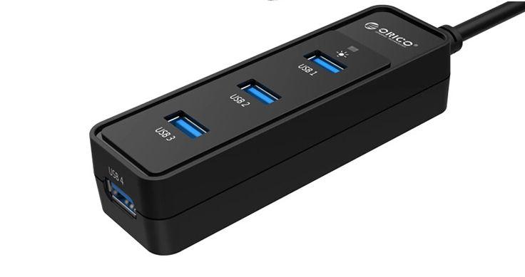 """""""1)ORICO W5PH4 USB 4 Porte USB 3.0, Materiale ABS di altissima qualita' e rifinitura; 2)CHIP VL812 per massima efficenza, prestazioni e compatibilita'; 3)Trasferimento fino a 5Gbps,10 volte superiore rispetto alle comuni USB 2.0 4)Indicatori LED;  5)Cavo USB 3.0 da 30cm; 6)Supporto ad hard drive fino a 1 TB e 3 USB Flash drive in uso contemporaneo 7)CE FCC Certificazioni"""""""