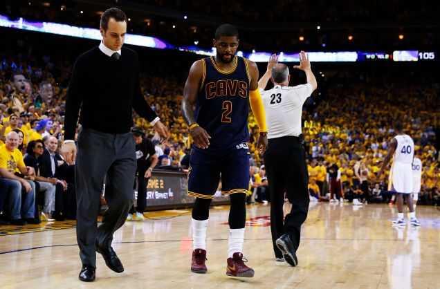 Bad news for the #Cavs... Kyrie Irving to undergo season-ending knee surgery.