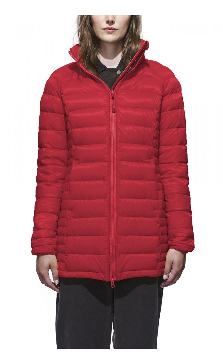 Canada Goose Brookvale Hooded Coat Red Women - Canada Goose #canadagoose #women #parka #lifestyle #jacket #outlet