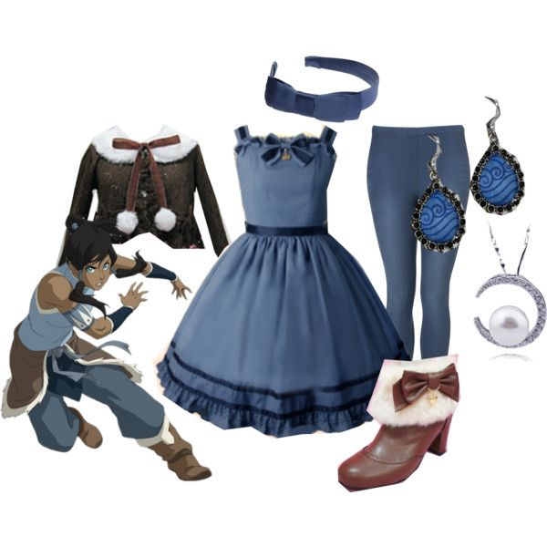 """""""Water Tribe Lolita"""" by meiki on Polyvore"""