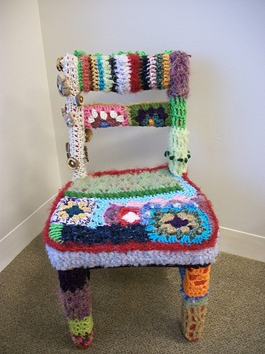 41 best Fiber Art - Chair Bomb images on Pinterest | Chairs ...