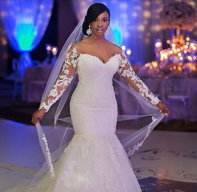 Glamorous Off The Shoulder Long Sleeve Mermaid Wedding Dress With Liques Bo7238 Item Code Bo8574 In 2018 Pinterest Dresses