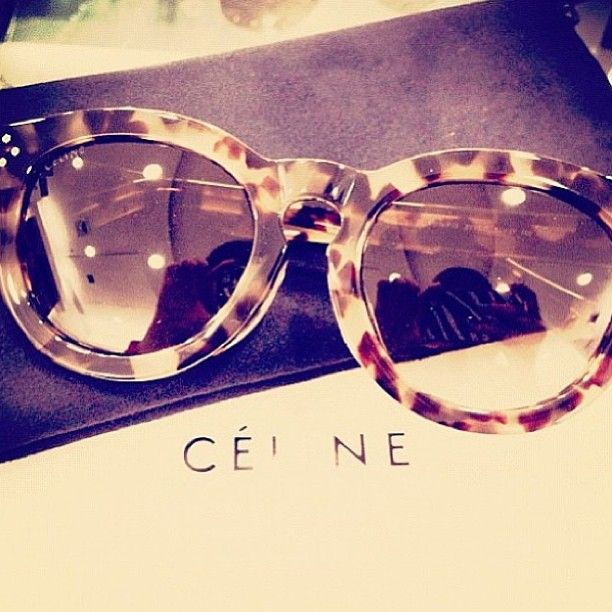 I pair fun sunglasses with all my outfits. Living in Florida, Texas, and Cape Cod requires me to wear sunglasses frequently due to all the sun! I love the brand Celine and the tortes shell sunglasses are beautiful