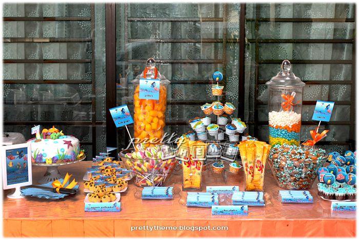 finding nemo birthday party ideas | Pretty Theme Event Planner: Birthday Party - Theme: Finding Nemo