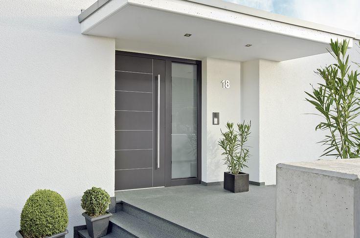 Design deur van Adeco type Metris #antraciet. www.denkit.nl