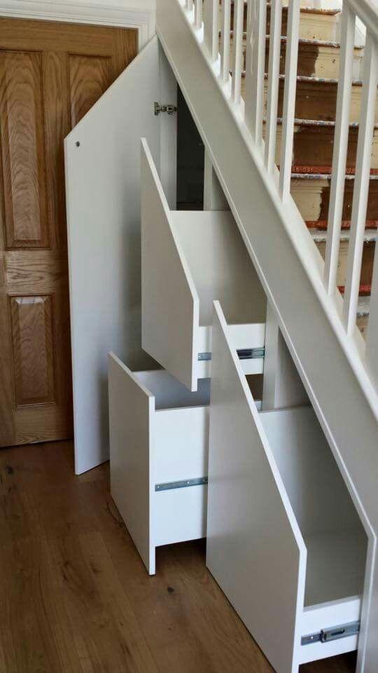 Stair cupboard