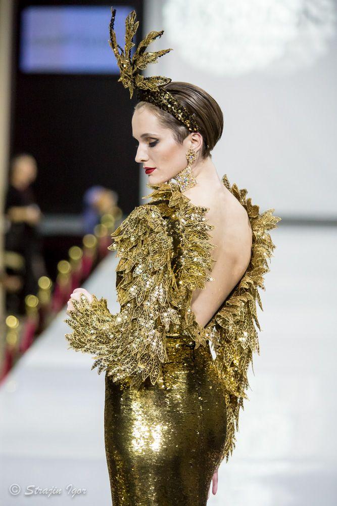«Золотой век» SLAVA ZAITSEV на Estet Fashion Week - фотограф Стражин Игорь