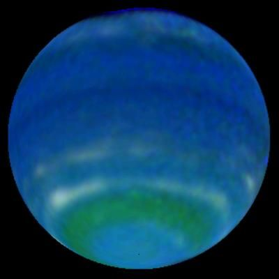 #NASA The planet Neptune is so far away, it took Voyager 2 over 12 years to get there.