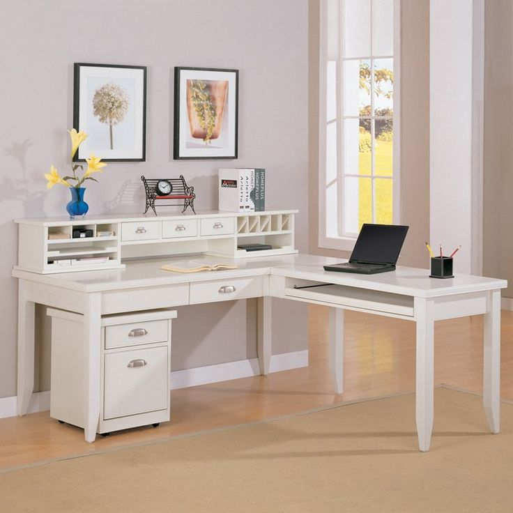 have to have it kathy ireland home by martin tribeca loft lshaped writing white desk officel