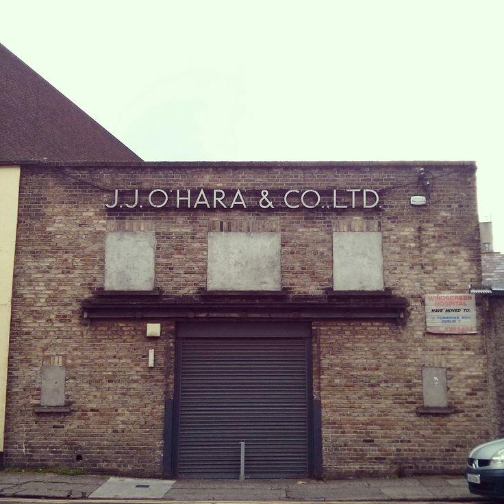 J.J. O'Hara & Co. Ltd. ghost sign, Dublin