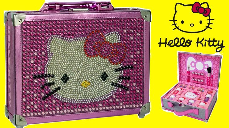 Hello Kitty Special Edition Cosmetic Case Makeup Box for Kids Unboxing!!!