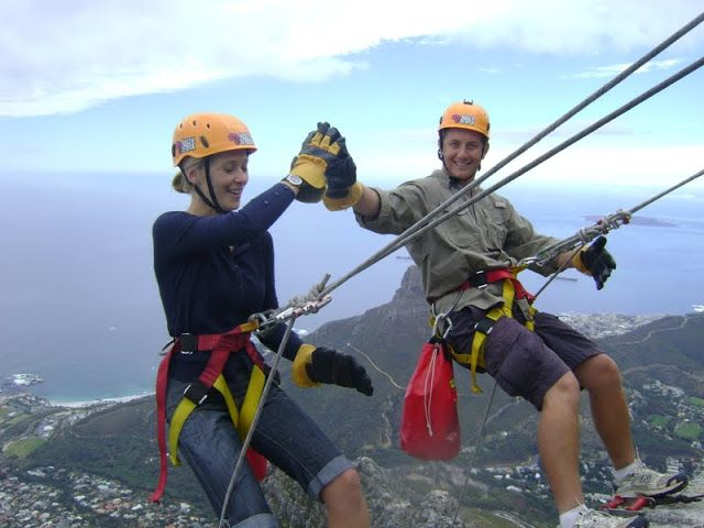 Would you abseil off Table Mountain?