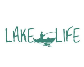 lake life stencil svg dxf file instant download silhouette cameo cricut clip art