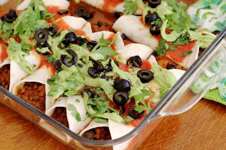 VEGA: Enchiladas met linzen