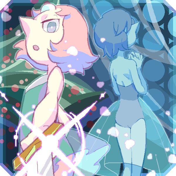 Steven Universe   Pearl and Blue Diamond's Pearl