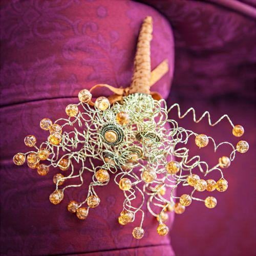 Starburst Wire & Bead Bouquet