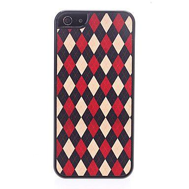 Teste padrão de grade Hard Case para iPhone 5 – BRL R$ 7,05