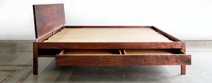 """Simplicity -- hand built with real wood in the USA.  From the site: """"Chadhaus is part laboratory, part workshop, and part design studio – building furniture and designing spatial environments for life and activity. Working at multiple scales, we move fluidly from one process to the next to achieve the highest quality of design and execution."""""""