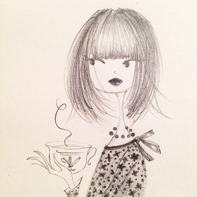 Tea time. #tea #sketch #blackwingpencils