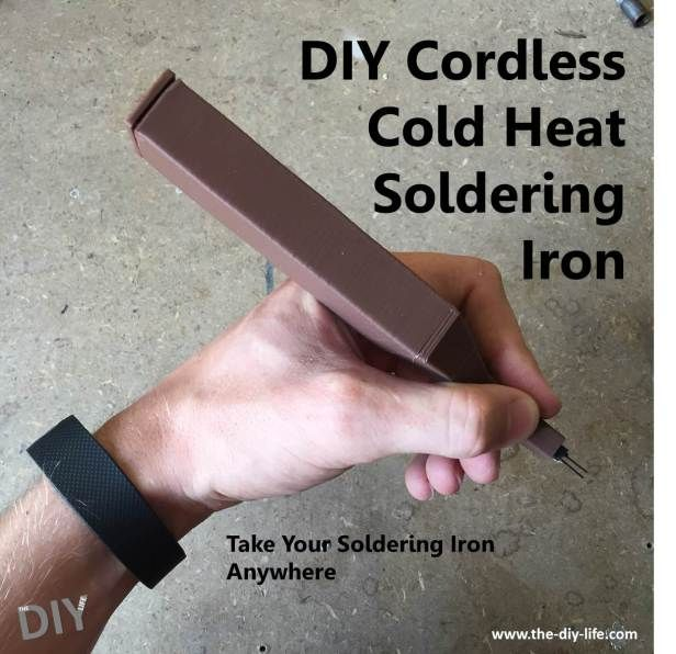 Step by step guide - DIY cordless cold heat soldering iron
