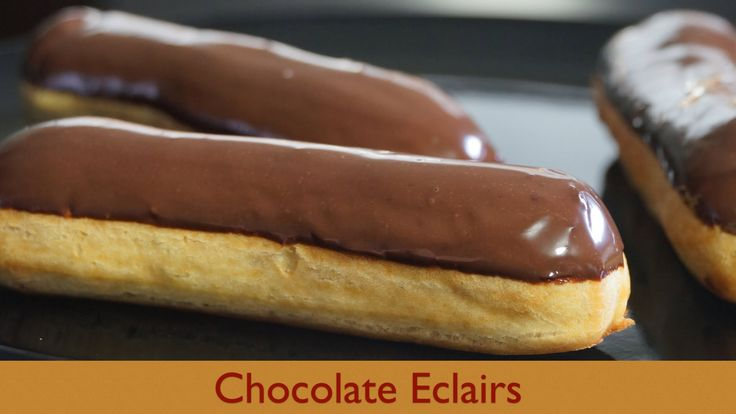 Chocolate Eclairs - Taste of France - Bruno Albouze - THE REAL DEAL