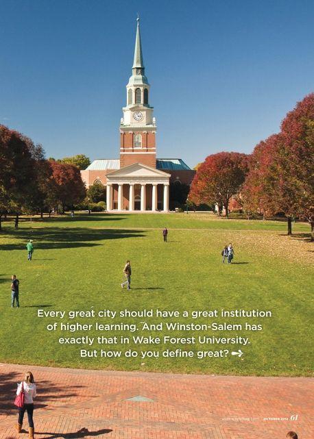 Winston Salem State University Tours