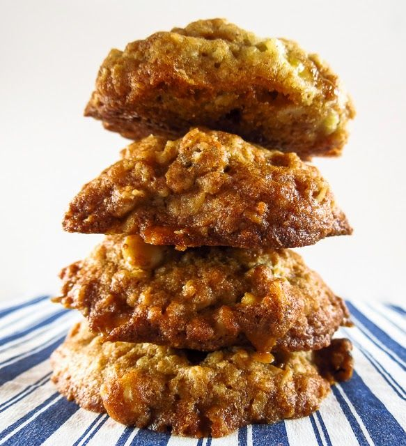 Banana Nut Cookies by On the Move-In the Galley