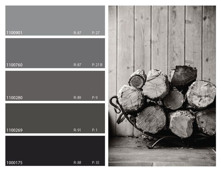 Love the grey color palette combination & love the texture of the wood accents