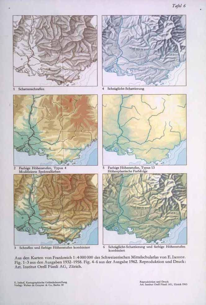 The Map as an Artistic Territory Relief