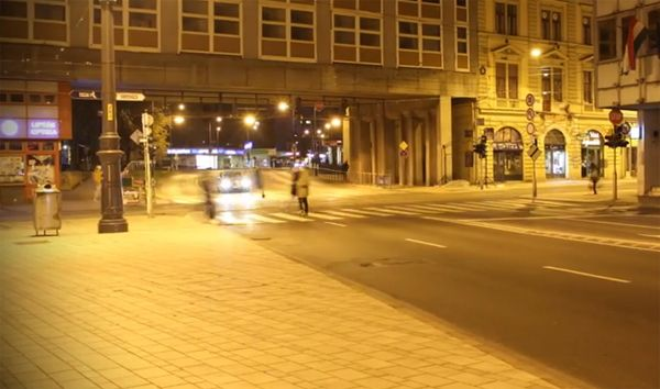 Timelapse videó: Miskolc éjszaka