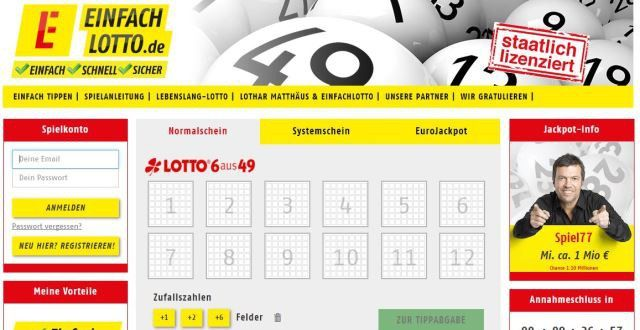 lotto im internet legal