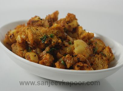 Brown Bread Upma