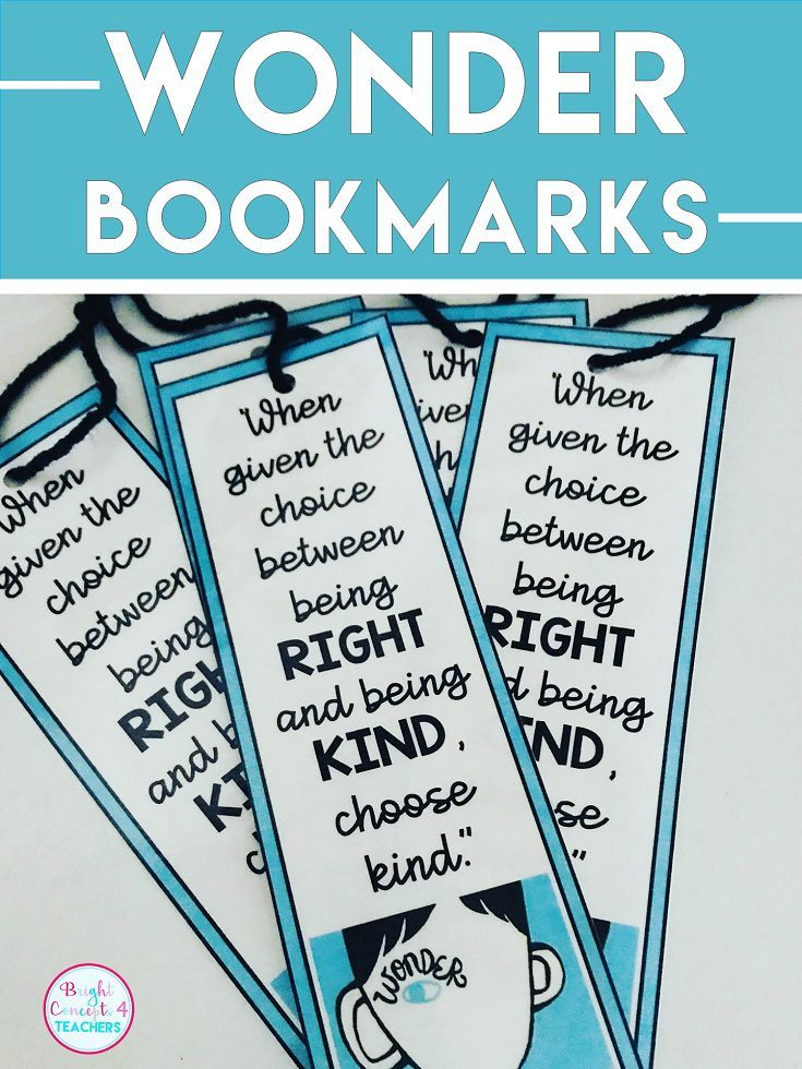 Subscriber Resource Library Student Bookmarks Book Study