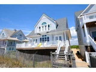 View of House From Beach - Island Drive 4336 - North Topsail Beach - rentals