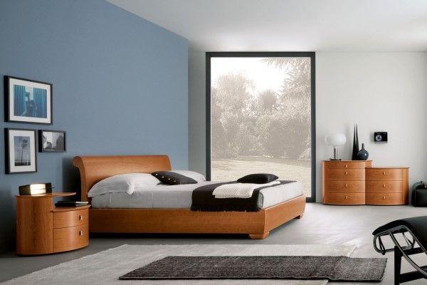 Camera da letto in legno di ciliegio 23