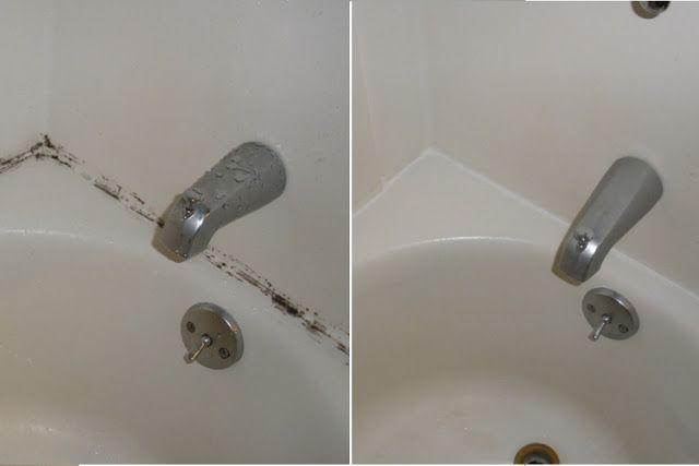 Comment faire disparaître les moisissures de contour de bain sans frotter! ~ Conseils pour vous