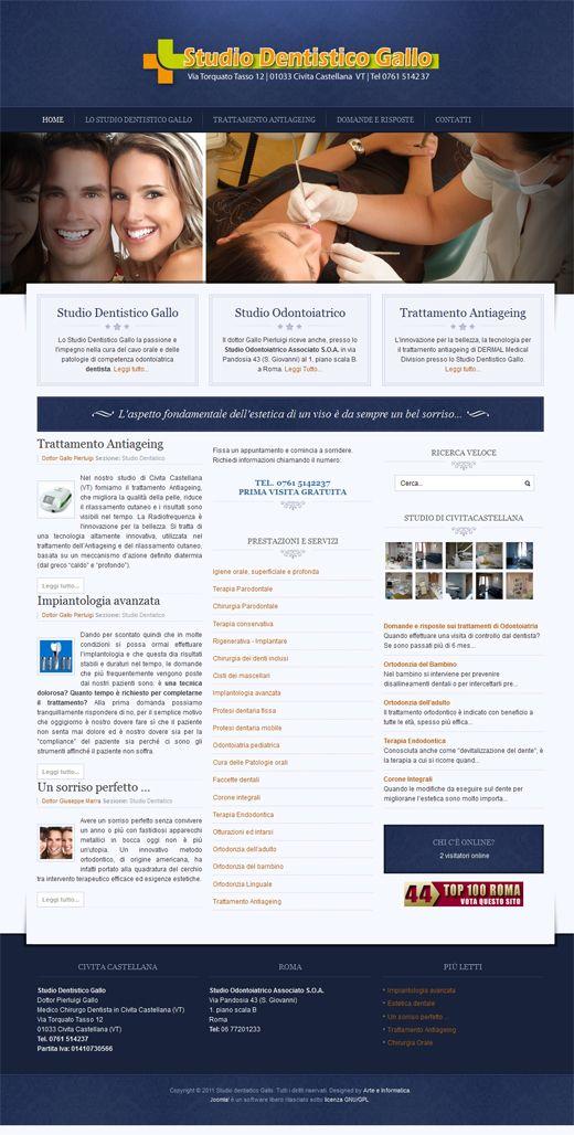 Sviluppo Sito Web: Dentista Civita Castellana