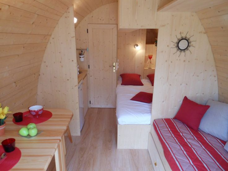 Gardencamping Pods on Inside An A Frame House