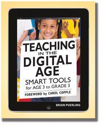 Teaching in the Digital Age: Brian Puerl, Grade 3, Smart Tools, Book, Classroom Technology, Teacher, Digital Age, Retrato-Port Digital, Ears Childhood