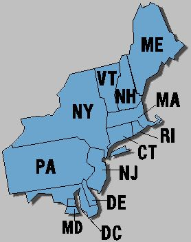 Northeast Region Of The United States - Lessons - Tes Teach