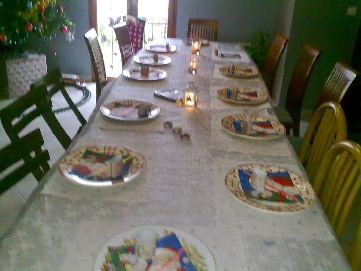 mes idees de sorties sympa: Table de Noël