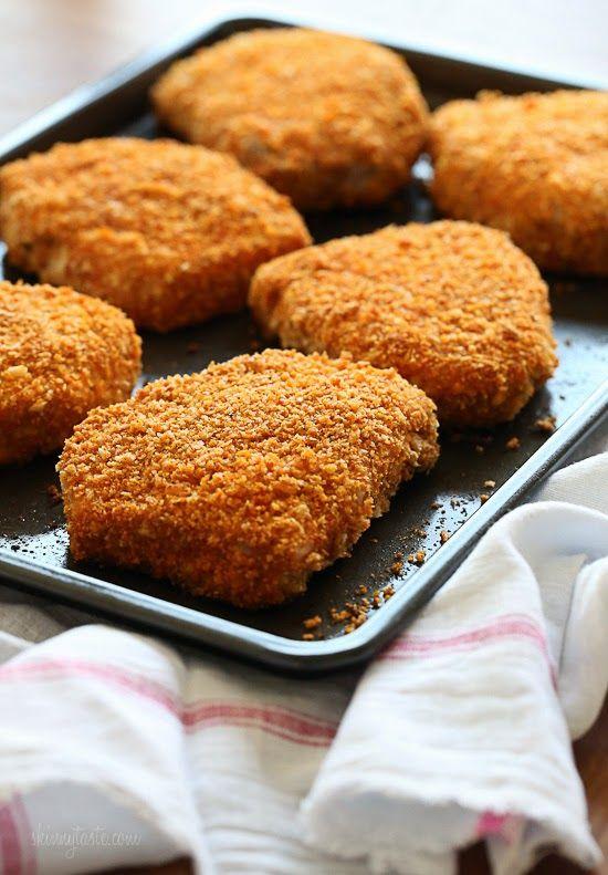 Juicy, delicious, boneless pork chops coated with a seasoned crisp crust. Ready in under 30...