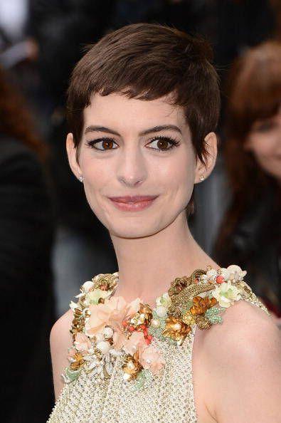 Anne Hathaway alla prima di Batman
