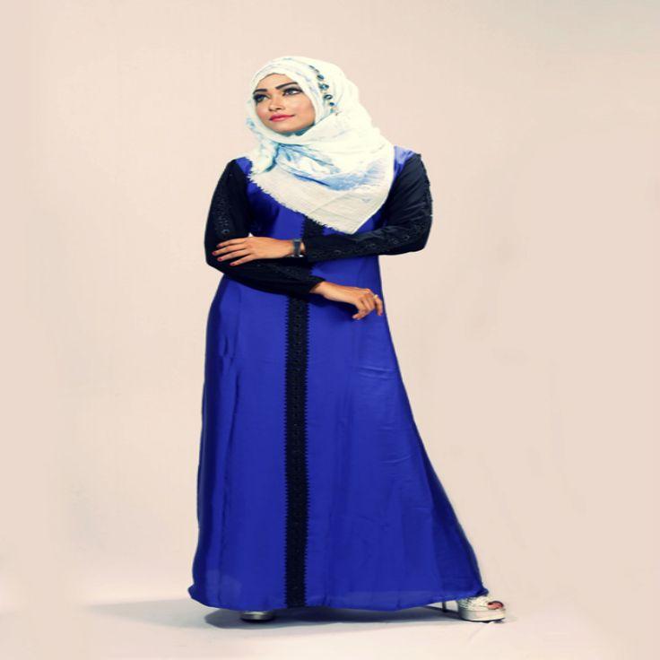Beautiful Royal Blue Borka